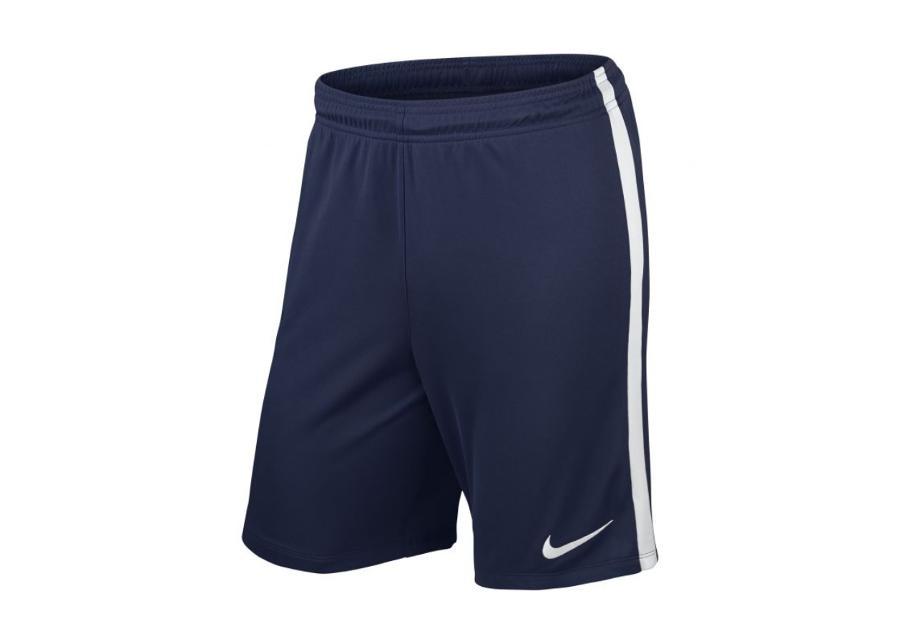 Miesten jalkapalloshortsit Nike LEAGUE KNIT SHORT M 725881-410