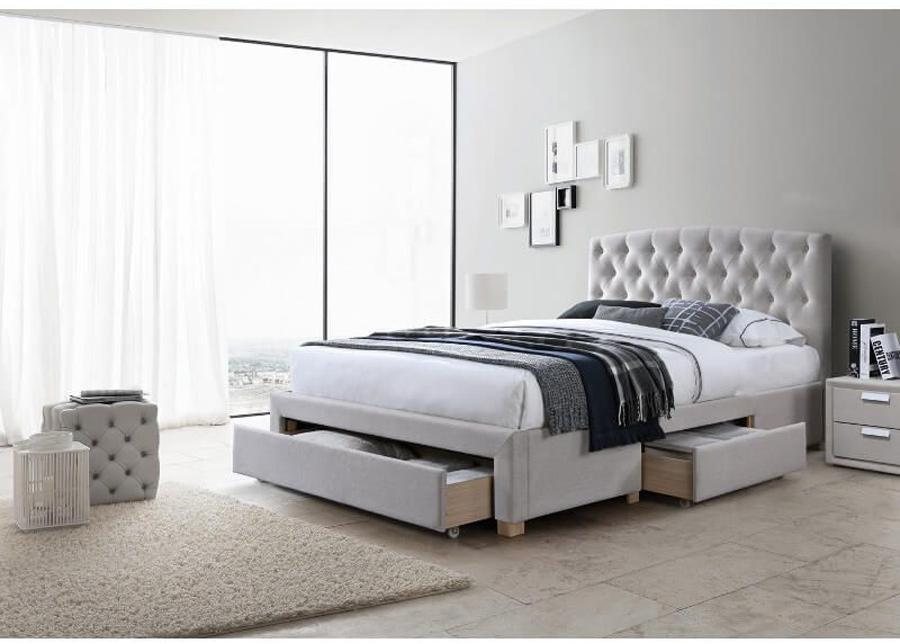 Sänky vuodevaatelaatikolla Alice 160x200 cm