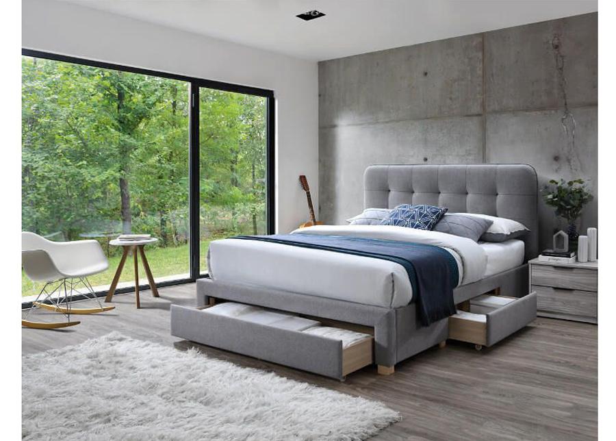 Sänky vuodevaatelaatikolla Jamie 140x200 cm