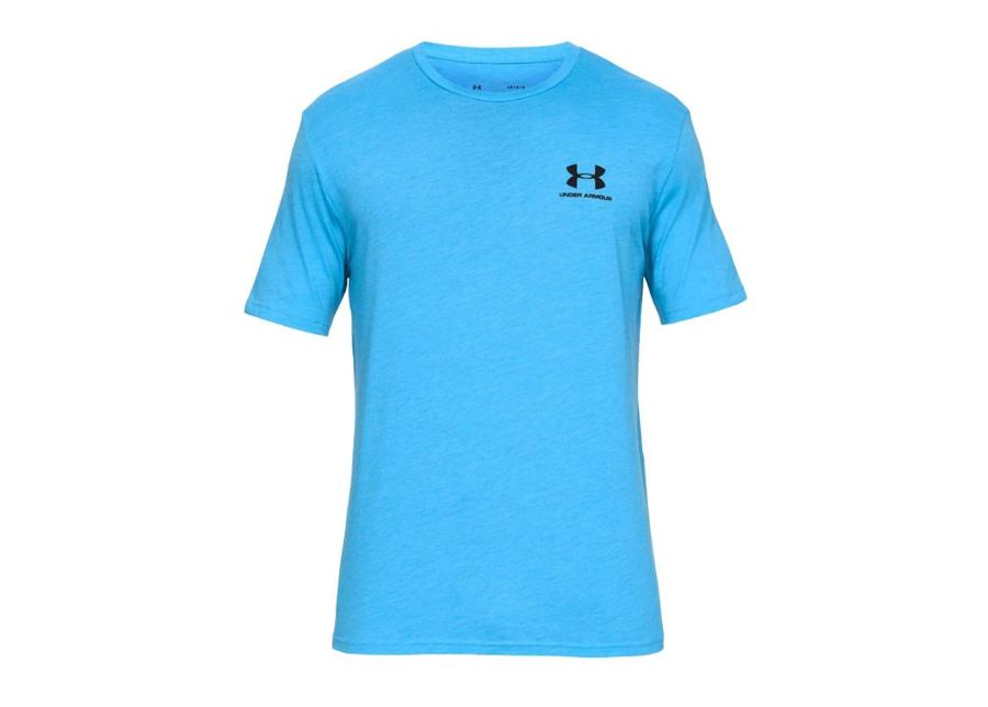 Miesten treenipaita Under Armour Left Chest Logo T-Shirt M 1326799-452
