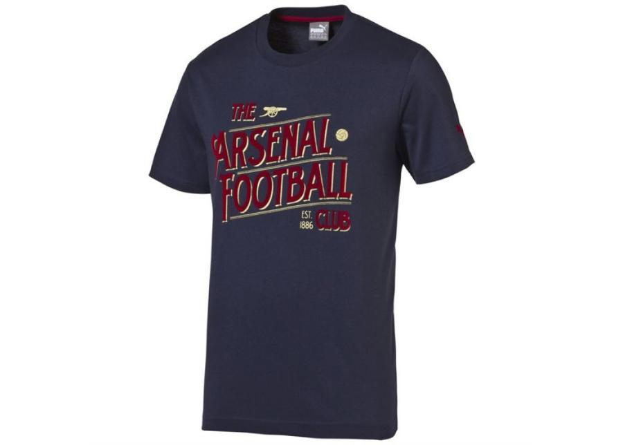 Lasten vapaa-ajan paita Puma Arsenal Football Club Graphic Fan Tee Junior 74748802