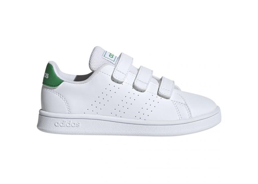 Lasten vapaa-ajan kengät Adidas Advantage C Jr EF0223