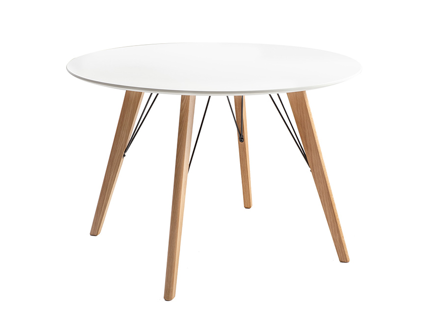 Ruokapöytä Helena White Ø 100 cm