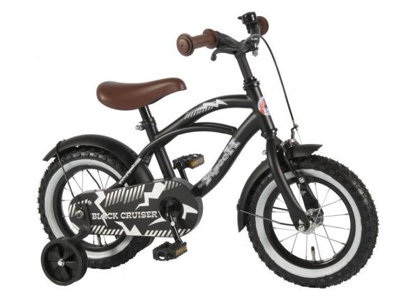 """Lasten polkupyörä Yipeeh musta Cruiser 12"""" Volare"""