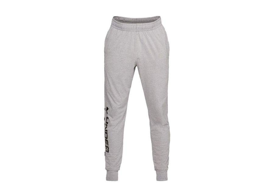 Miesten verryttelyhousut Under Armour Sportstyle Cotton Graphic Jogger M 1329298-035