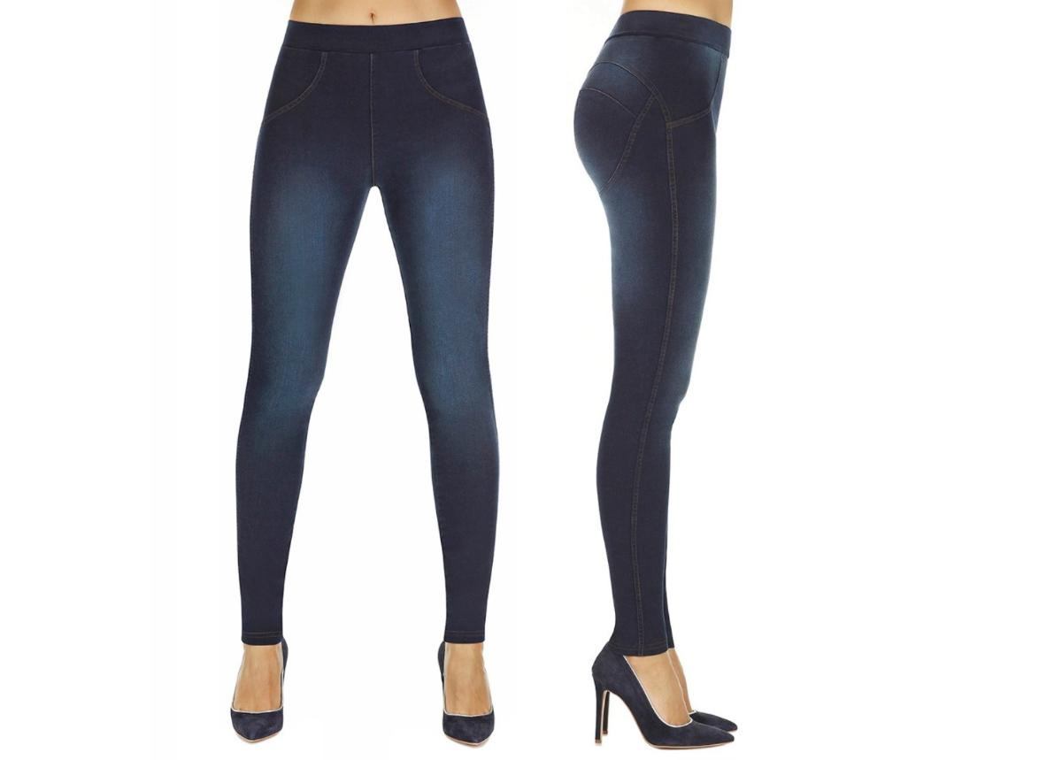 Naisten push-up leggingsit BAS BLEU Maddie