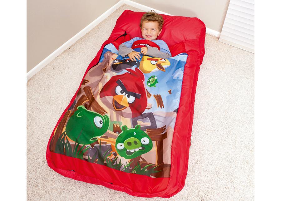 Ilmapatja makuupussilla Bestway Angry Birds