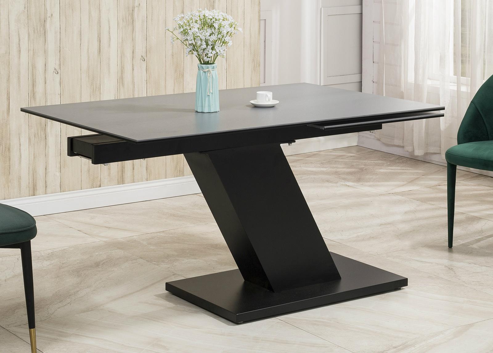 Jatkettava ruokapöytä Tische 140-200x90 cm