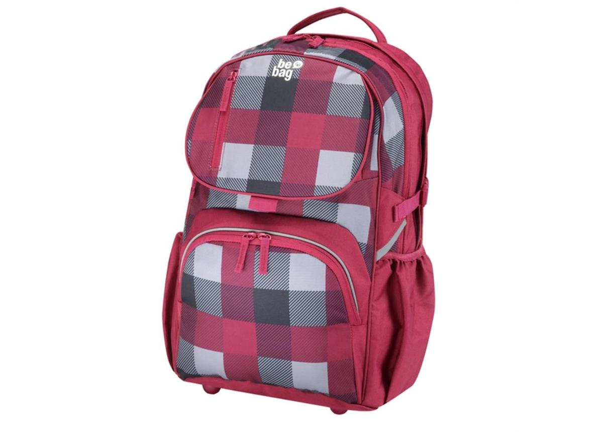 Koulureppu Be Bag Cub Checked