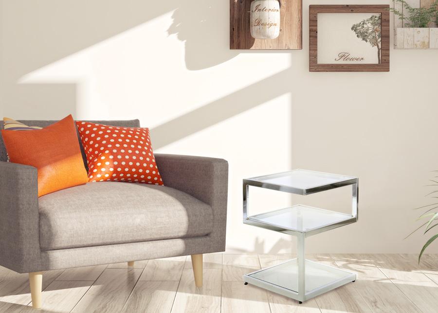 Apupöytä 40x40 cm