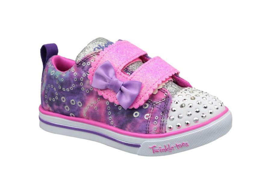 Lasten vapaa-ajan kengät Skechers Sparkle Lite Jr 20147N-PRMT