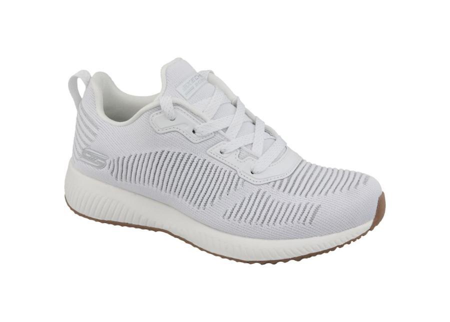 Naisten vapaa-ajan kengät Skechers Bobs Squad Glam W 31347-WHT