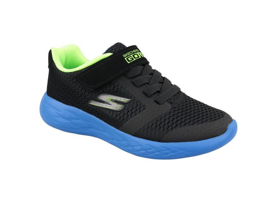 Lasten vapaa-ajan kengät Skechers Go Run 600 Jr 97860L-BBLM