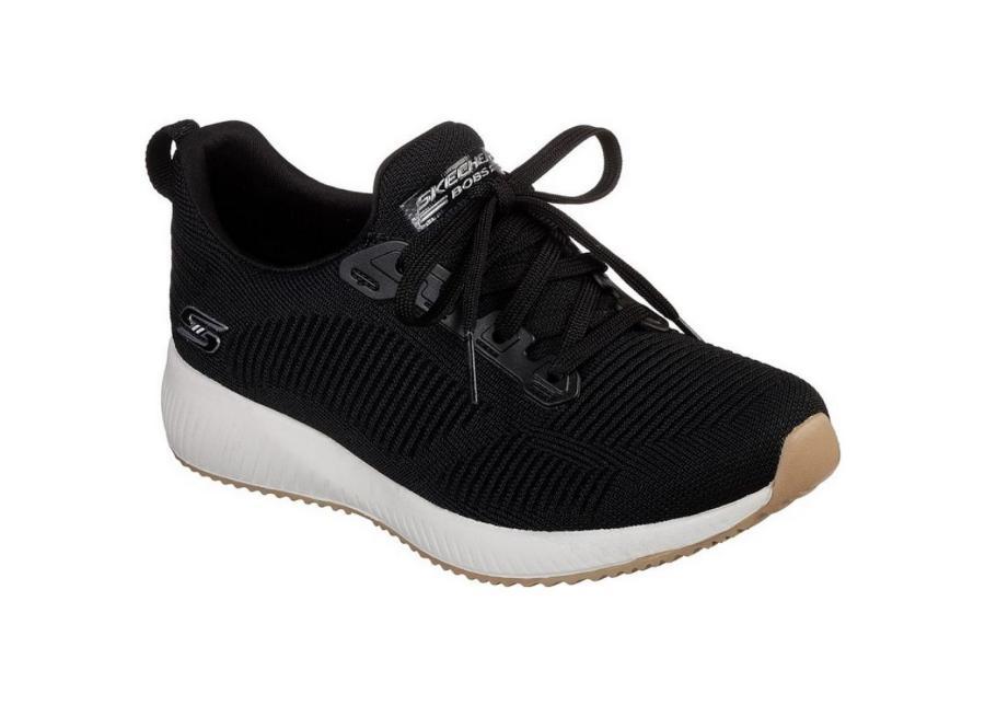Naisten vapaa-ajan kengät Skechers Bobs Squad W 31362-BLK