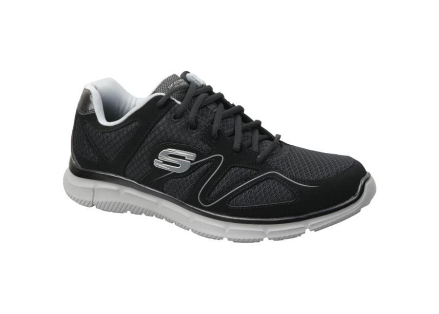 Miesten vapaa-ajan kengät Skechers Satisfaction M 58350-BKGY