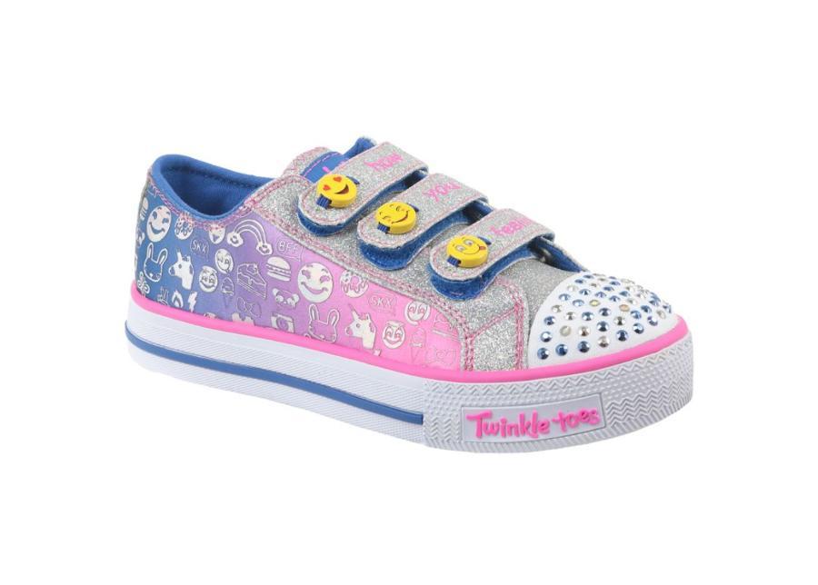 Lasten vapaa-ajan kengät Skechers Step Up Jr 10704L-BLNP