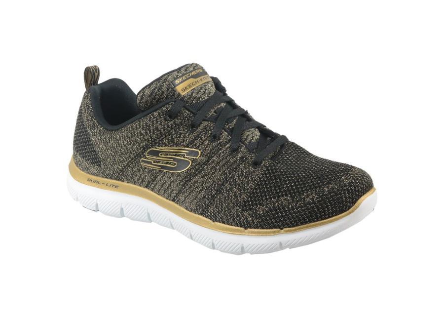 Naisten vapaa-ajan kengät Skechers Flex Appeal 2.0 W 12771-BKGD