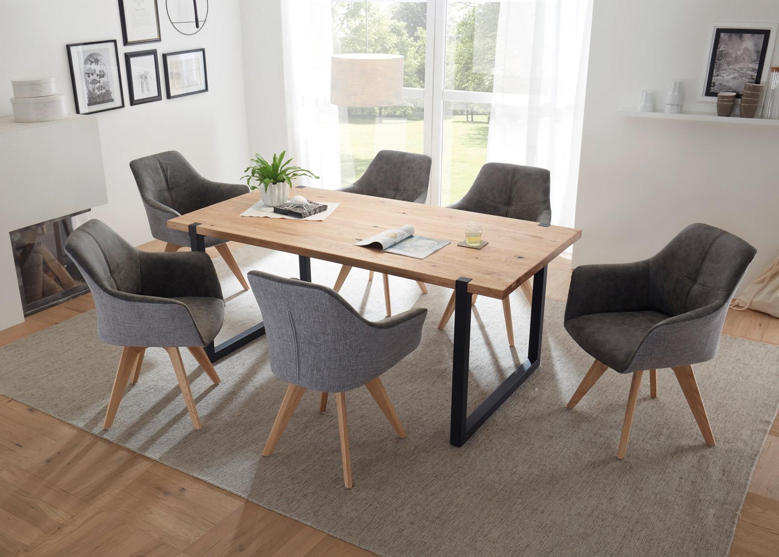 Ruokapöytä Melvin 180x90 cm