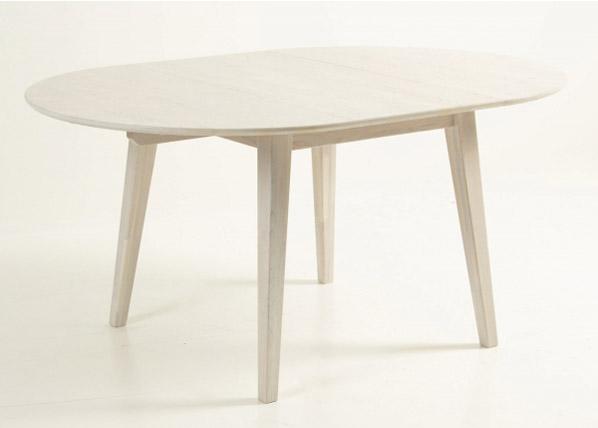 Jatkettava ruokapöytä 110-160x110 cm