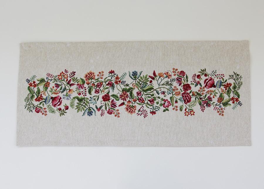 Gobeliinikankainen pöytäliina Bloom 40x100 cm