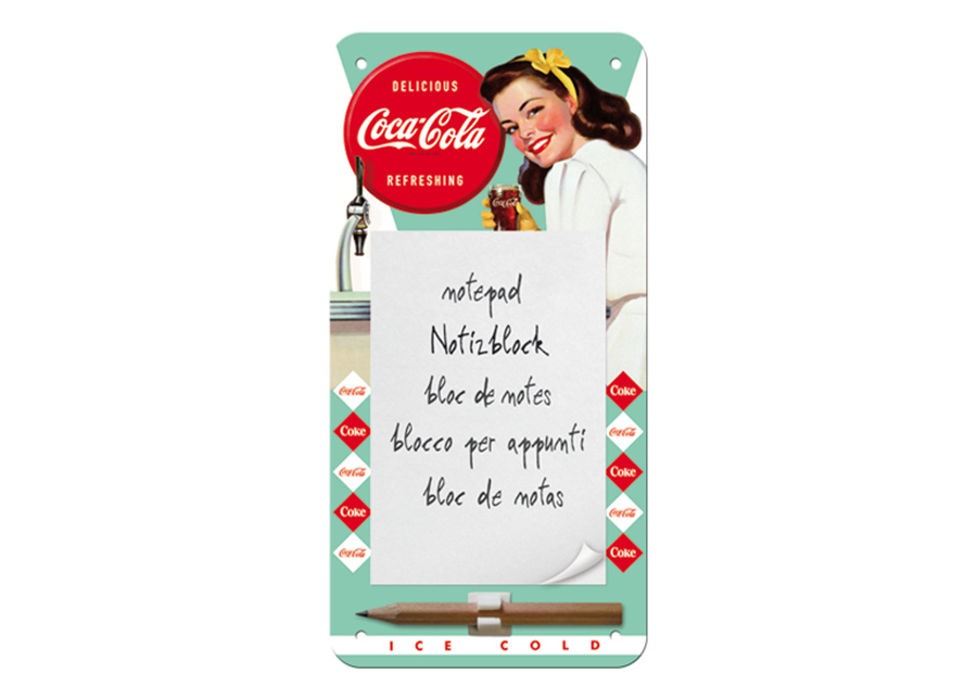 Magneetti muistitaulu Coca-Cola Ice cold