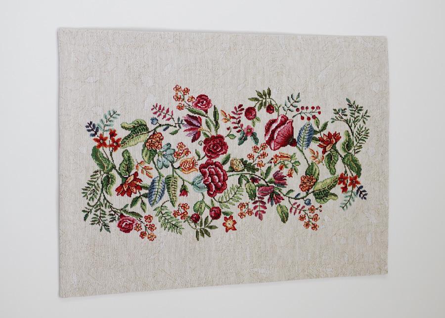 Gobeliinikankainen pöytäliina/pöytätabletti Bloom 36x50 cm
