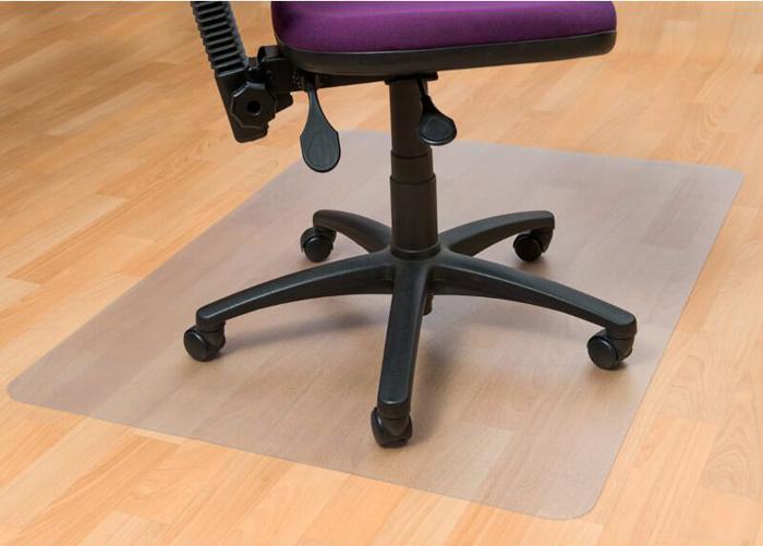 Tuolialusta Professional lattialle 90x120 cm