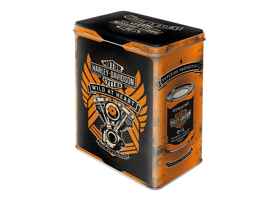 Peltipurkki Harley-Davidson Wild at Heart 3 L