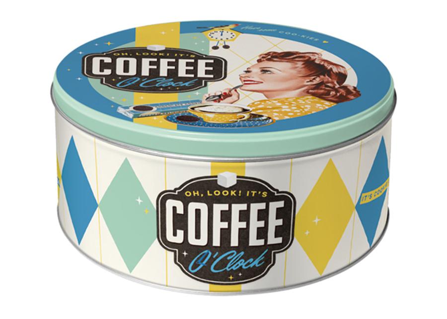 Peltipurkki 3D Coffee O