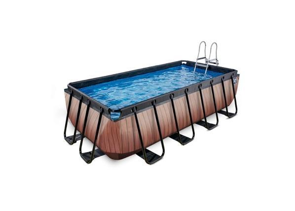 Uima-allas 400x200 cm suodatinpumpulla EXIT Wood