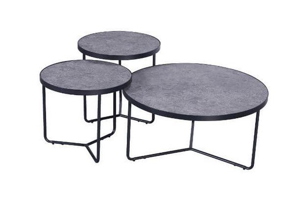 Sohvapöydät Ronda, 3 kpl