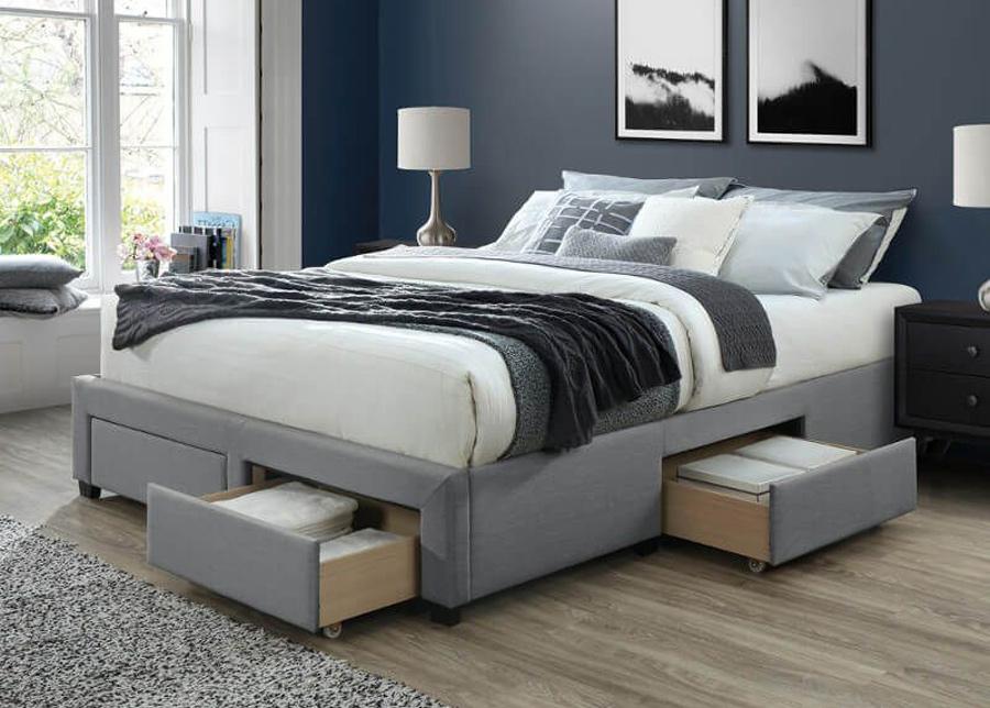 Sänky vuodevaatelaatikolla Cosmo 140x200 cm