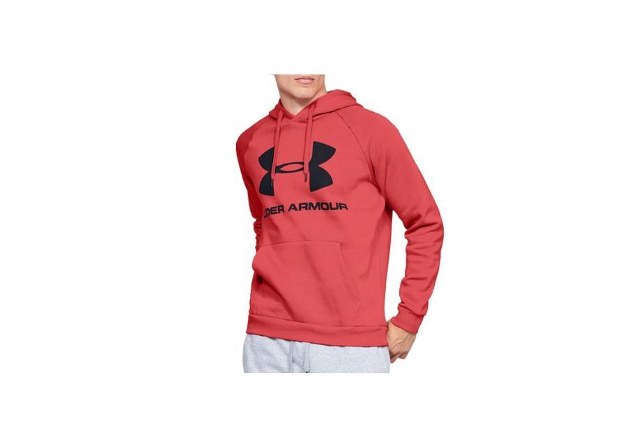 Miesten huppari Under Armour Rival Rival Fleece Sportstyle Logo Hoodie M 1345628-646