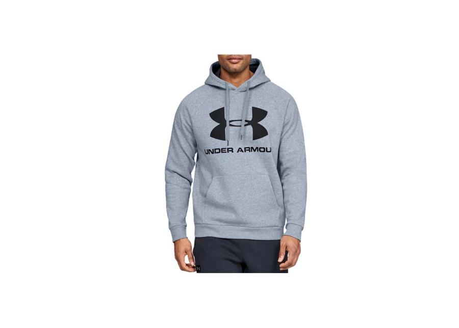 Miesten huppari Under Armour Rival Fleece Sportstyle Logo Hoodie M 1345628-035