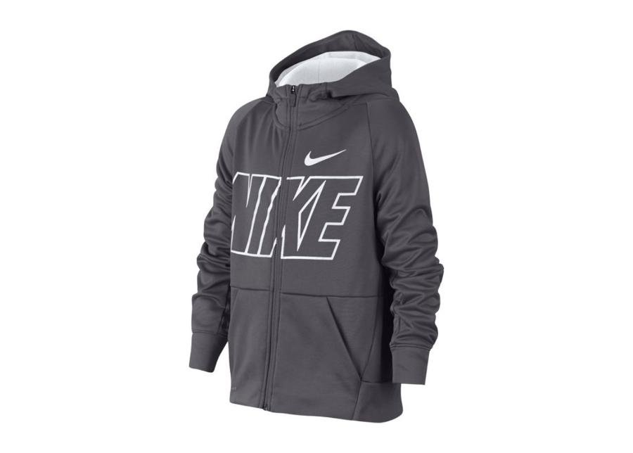 Lasten huppari Nike JR Therma Hoodie FZ GFX Junior 939851-021