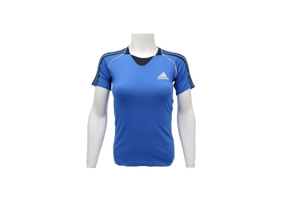 Naisten treenipaita Adidas Pres S/S Tee W G85920