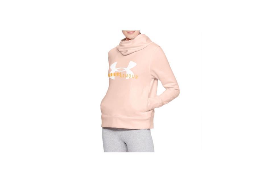 Naisten verryttelytakki Under Armour Rival Fleece Logo Hoodie W 1321185-805
