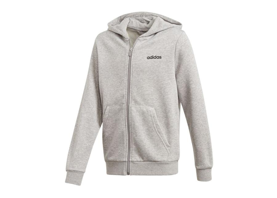 Lasten huppari Adidas JR Essentials Linear FZ Hoodie Junior DV1819