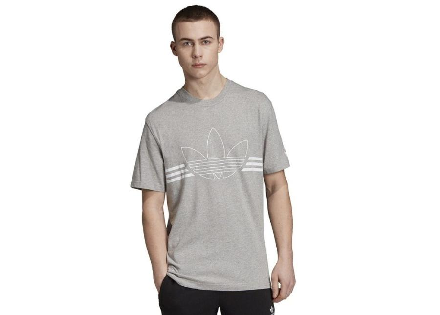 Miesten t-paita Adidas Originals Outline Tee M ED4699 harmaa