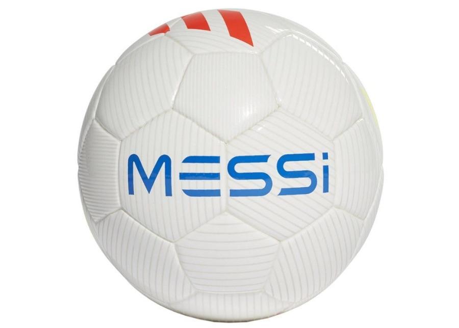 Jalkapallo Adidas Messi Mini DY2469 valkoinen