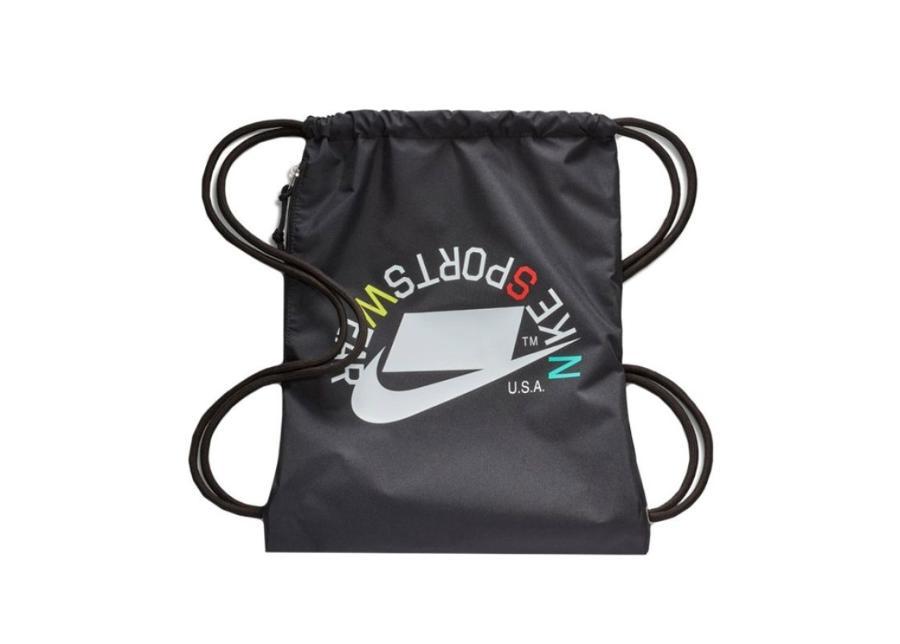 Kenkäpussi Nike Heritage Gymsack BA5431 019 musta