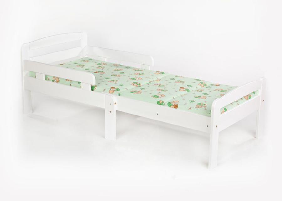 Jatkettava lastensänky Kiku 75x100+42+42 cm