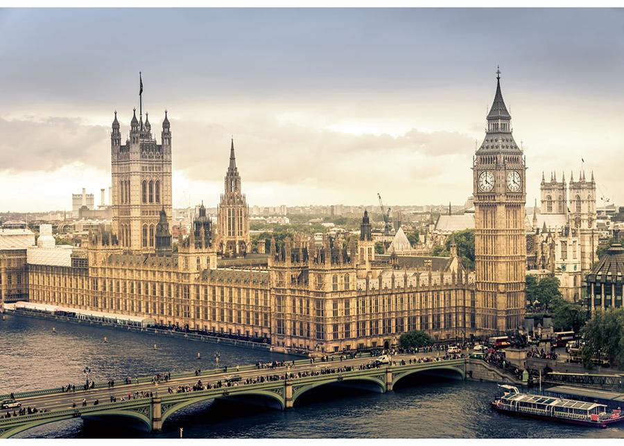 Kuvatapetti London 416x254 cm