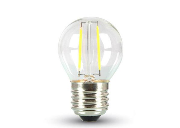 LED lamppu hehkulangalla E27 2 W 3 kpl