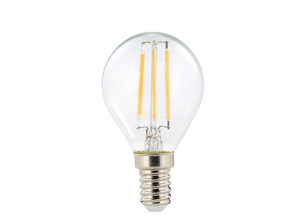 LED lamppu hehkulangalla E14 2 W 3 kpl