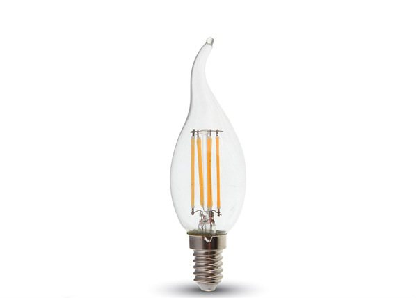 LED lamppu hehkulangalla E27 5 W E14 4 W 3 kpl