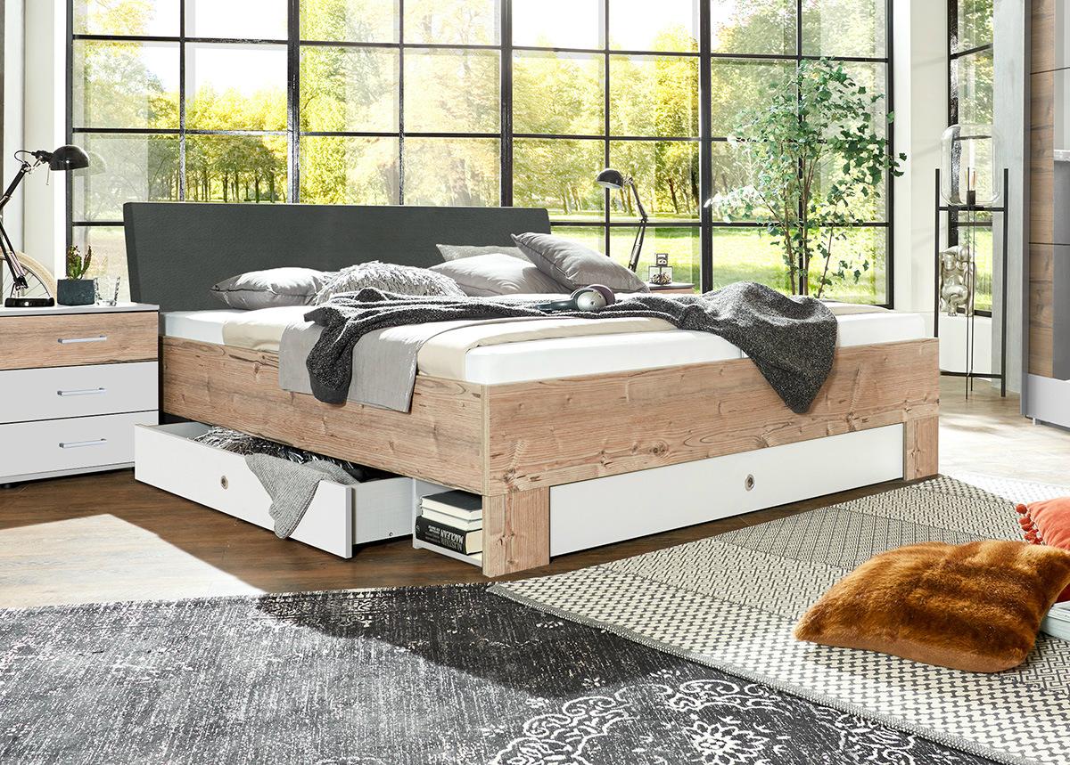 Sänky vuodevaatelaatikolla Mexico 180x200 cm