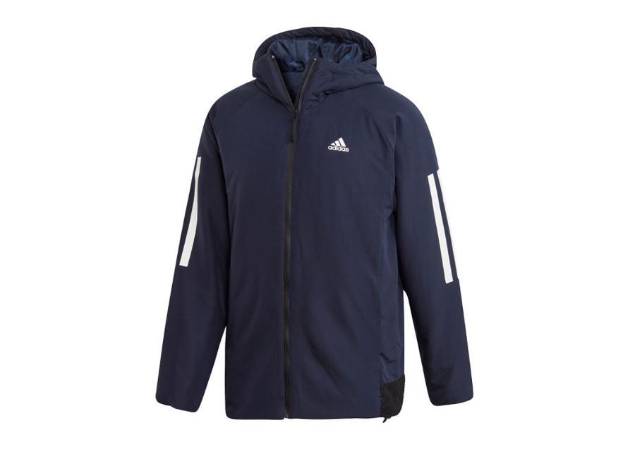 Miesten sadetakki Adidas BTS 3S Hooded Insulated M DZ1408