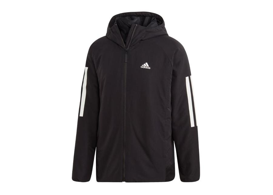 Miesten sadetakki Adidas BTS 3S Hooded Insulated M DZ1403