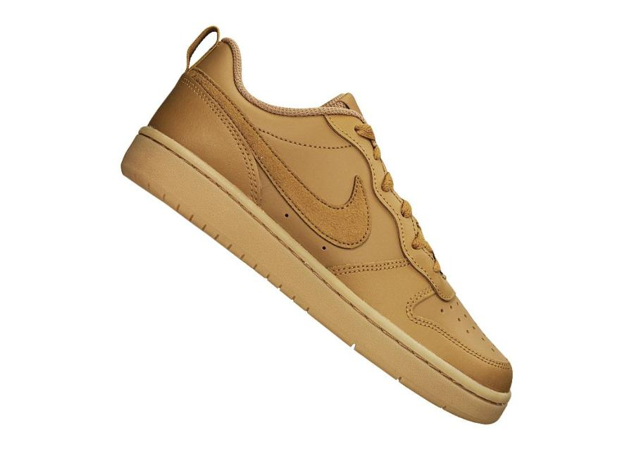Lasten vapaa-ajan kengät Nike Court Borough Low 2 (GS) Jr BQ5448-700